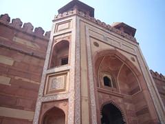 Facade of Fathepur Sikri