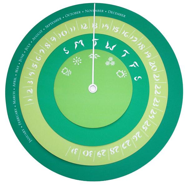Barometer inspired calendar