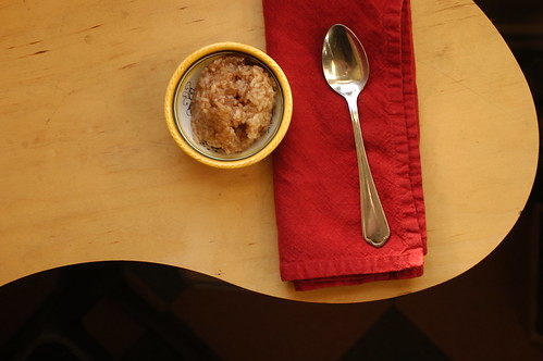 sweet cinnamon rice pudding