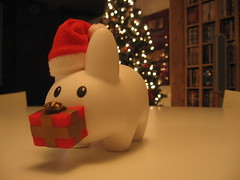 IMG_8376 (All About Eve) Tags: christmas light bunny home lamp loft gift nol lapin cadeau labbit viau biscui