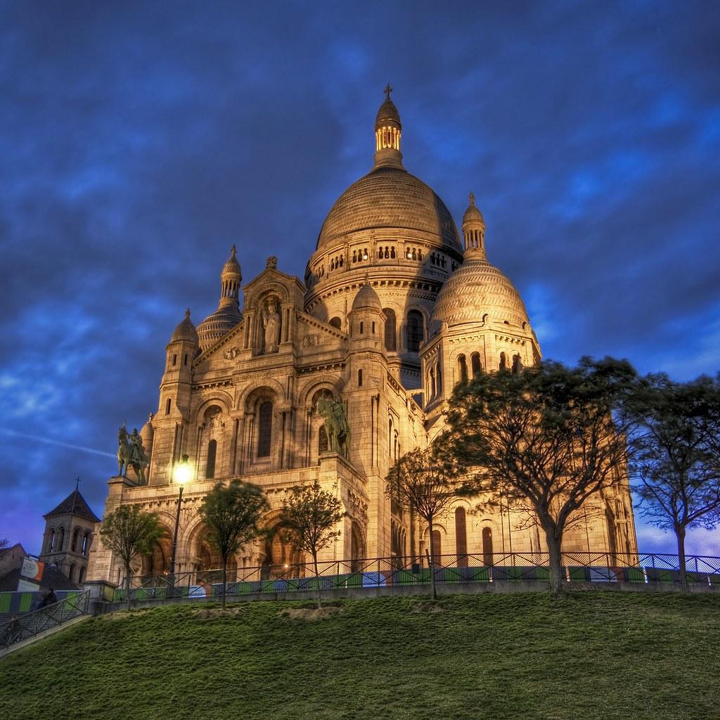 La Basilique du Sacre Coeur de Montmatre