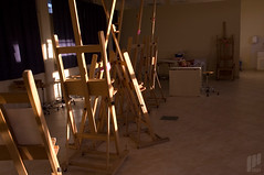 (60min) Painting Studio -  (I Can) Tags: college project photography university kuwait 60 ican 2007      60min