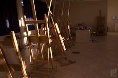 (60min) Painting Studio - المرسم (I Can) Tags: college project photography university kuwait 60 ican 2007 جامعه تصوير كويت ساعة كليه 60min جامعة كلية دقيقة جولة جوله