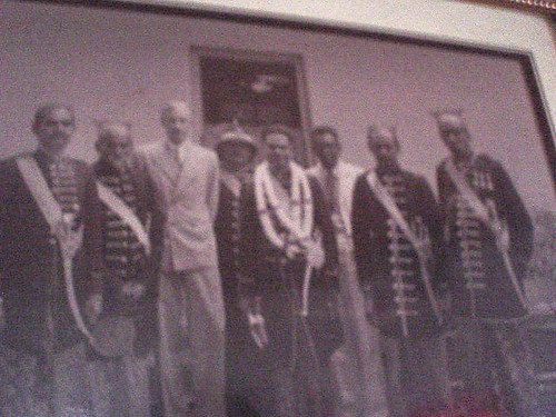 Historical photograph from the colonial period at Tangalle Resthouse Sri Lanka