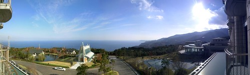 Panorama view from Hilton Odawara