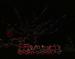 Toy Express (Jeanie's Pics) Tags: holiday tree train lights display christmaslights explore lightdisplay simsburyct