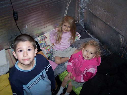Joshua, Kaylee, and Ashlee in The Fort