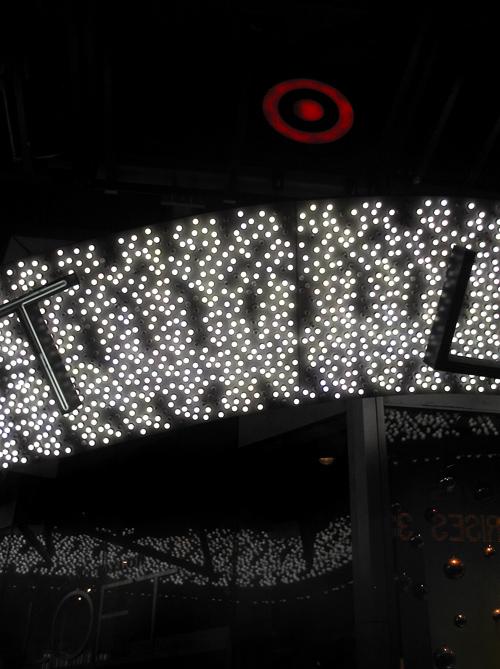 Target lights, 42nd Street