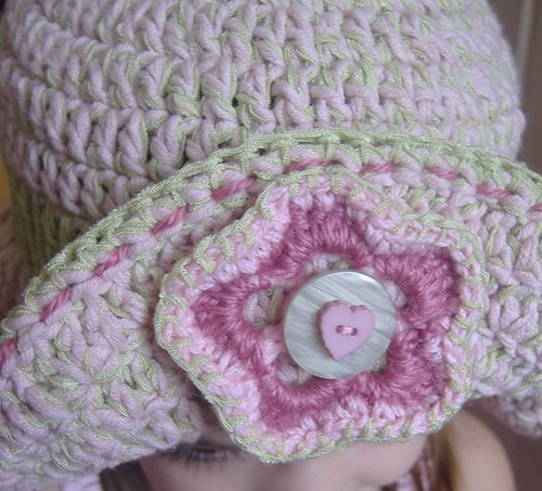Ravelry: Crochet Pansy Easter Bonnet Hat pattern by Carrie Wolf