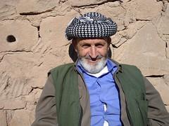 Old Kurdish man from Kurdistan (kezwan) Tags: old kurdistan kurd kezwan 1on1people