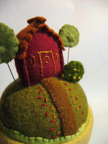 pin cushion detail by Mimi K.