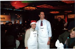 "Penny celebrating the Christmas cheer breakfast with Premier Dalton McGunity • <a style=""font-size:0.8em;"" href=""http://www.flickr.com/photos/21584185@N07/2191890856/"" target=""_blank"">View on Flickr</a>"