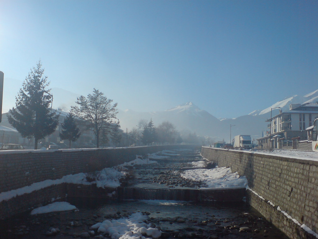 Bansko snow stream