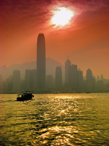 Hong Kong Sunset 1