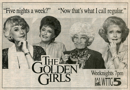 Golden Girls, Weeknights at 7pm