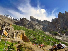 Urdokas (Ahmad A Karim) Tags: las pakistan trekking glacier adventure backpacking areas northern society lums baltoro baltistan 3500m absolutelystunningscapes urdokas