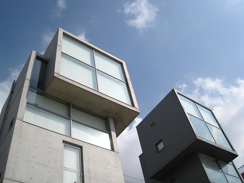 Tadao Ando's 4x4 Houses, Kobe - Fontasan