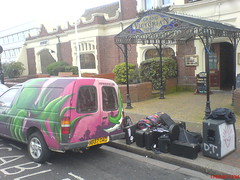 All you need for a Gig (Horn Of Fury) Tags: music gig band van worthin dannyfontaine grandvictorian hornsoffury