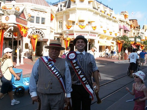 Citizens of Main Street - Mayor Christopher George Weaver & Asssitant to the Mayor Andy