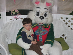 Ben & Easter Bunny (ca_wrights) Tags: ben easterbunny