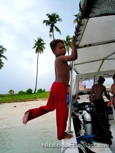 minority tribe kid in sibuan islands