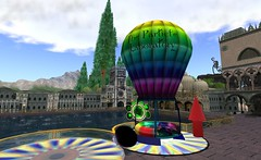The Particle Laboratory ( TORLEY ) Tags: city mountains hot tree up clouds lab rocks ride teal air balloon secondlife laboratory particle arrow hop learn particles torley pendragon scripts jopsy slbuzz examplesnexplanations partiele