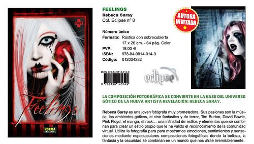 Presentación Feelings Salon del comic de Barcelona