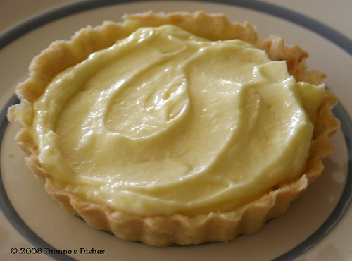 The Most Extraordinary French Lemon Cream Tart: Ready for Topping