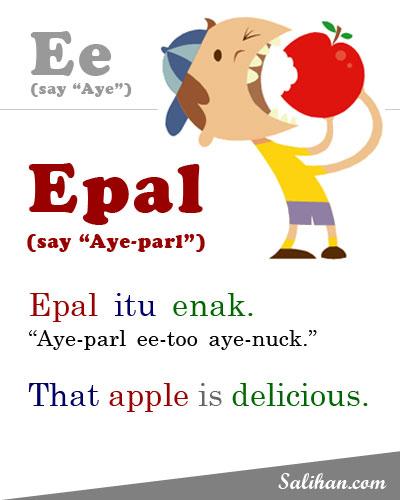 E=Epal