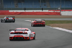 GT1 and GT2 cars, FIA GT, Silverstone 2008 (Richard Crawford Photography) Tags: cars chevrolet car ferrari chevy silverstone gt corvette supercar motorracing fia gt2 c6 motorsport racingcar f430 chevroletcorvette 430 ferrarif430 fiagt c6r gt1 canonef75300mmf456iiiusm canoneos400d