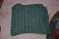 Linen Lace Wrap