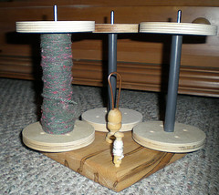 SpinOlution bobbins on Kate