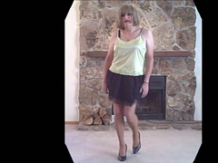 Black Mini GreenCami 2 Treat Her Like A Lady (cheriamor44) Tags: tv cd sissy transvestite upskirt slip crossdresser dragtransvestitesissycrossdresserslipupskirttvcd