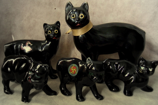 Black cats - Manx brothers