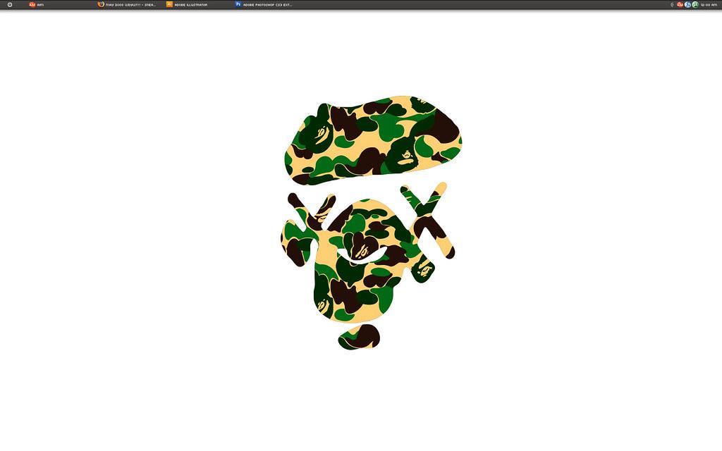 The world 39 s newest photos of desktop and kaws flickr - Bape wallpaper mac ...
