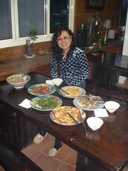 晚餐與老闆娘