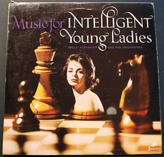 Music for intelligent young ladies (Jacob Whittaker) Tags: art inch album vinyl retro cover record 12 sleeve albimoor