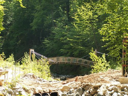 Brücke über die Roten Weißeritz im Rabenauer Grund