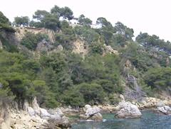 Klippe an der Costa Brava