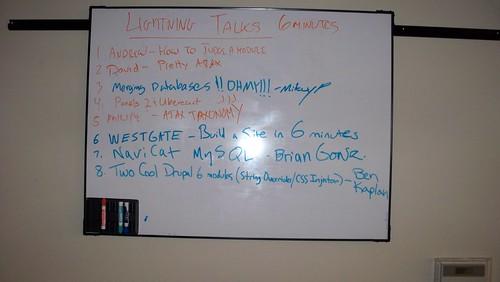 Lightning Talks and Presentations 1