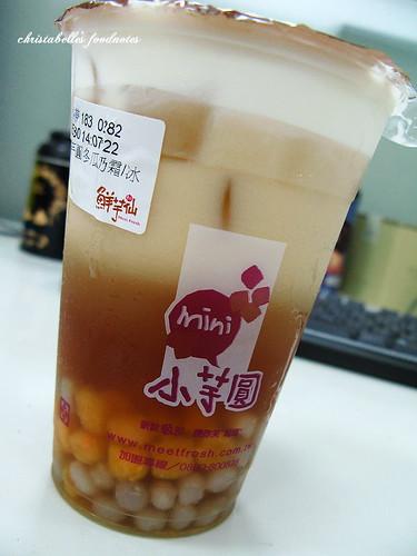 鮮芋仙小芋圓冬瓜鮮奶霜