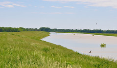 Dike full of water flood (Macomb Paynes) Tags: water flood dike