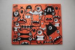 TheAvengersAreAlone - 05 (Jepeinsdesaliens) Tags: orange art lines illustration graffiti design sketch drawing dessin characters posca poscapens poscaart poscadesign theavengersarealone