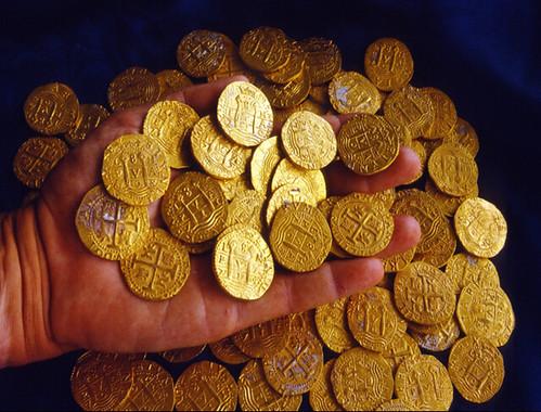 1715 wreck gold coins