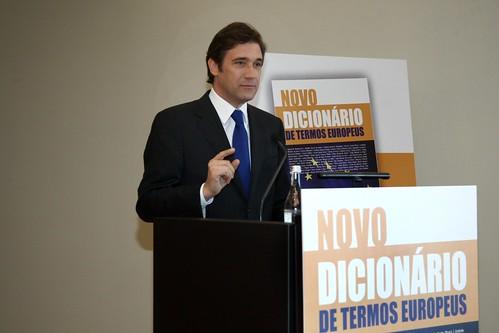 2011-05-09-Pedro Passos Coelho no Lançamento do Livro de Carlos Coelho-LSAR8452