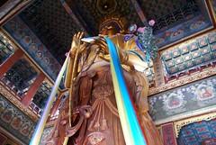 Maitreya Buddha Statue in Wanfu Pavilion - Lama Temple