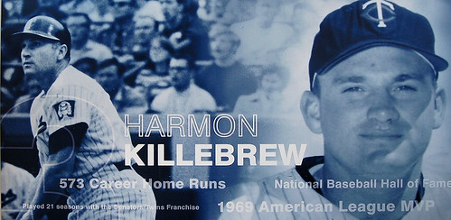 Killebrew Poster at Target Field