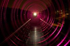 el tunel del.... (Gus Mercerat (400 K Thanks!)) Tags: light luz painting munich nacht picture fotos nocturna bild stern inti nord lichtmalerei munchen pintando luzlicht
