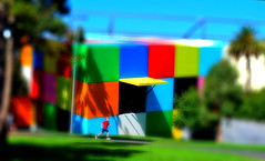 Child's Play (phunnyfotos) Tags: colour museum carlton australia melbourne victoria melbournemuseum carltongardens tiltshift12 colorphotoaward flickraward nikonflickraward tiltshilft
