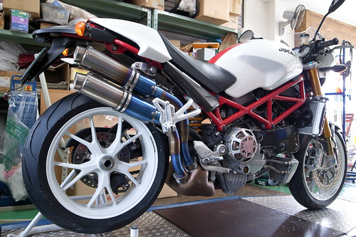 DUCATI MONSTER S4R by Motorcycle Workshop J.BOY